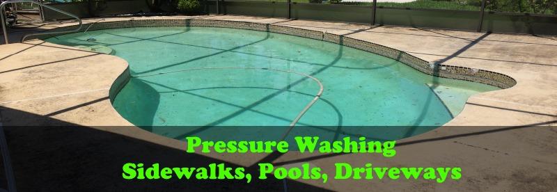 Pressure cleaning ormond beach fl pool sidewalk for Pressure clean pools